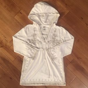 Lucky Brand Tunic Hoodie Size Small
